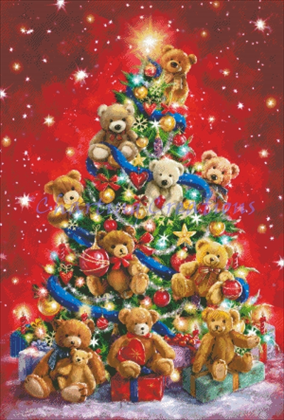 Teddy Bear Tree - Click Image to Close