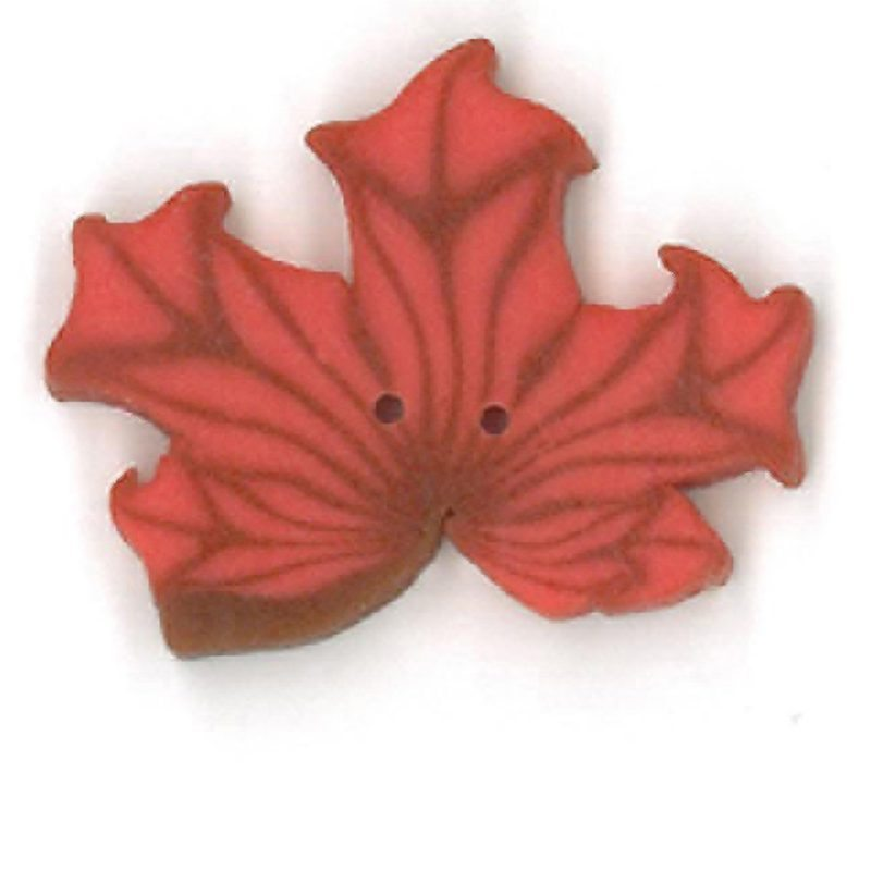Orange Maple Leaf - Large