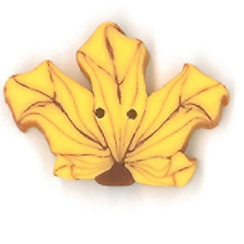 Yellow Maple Leaf - Small