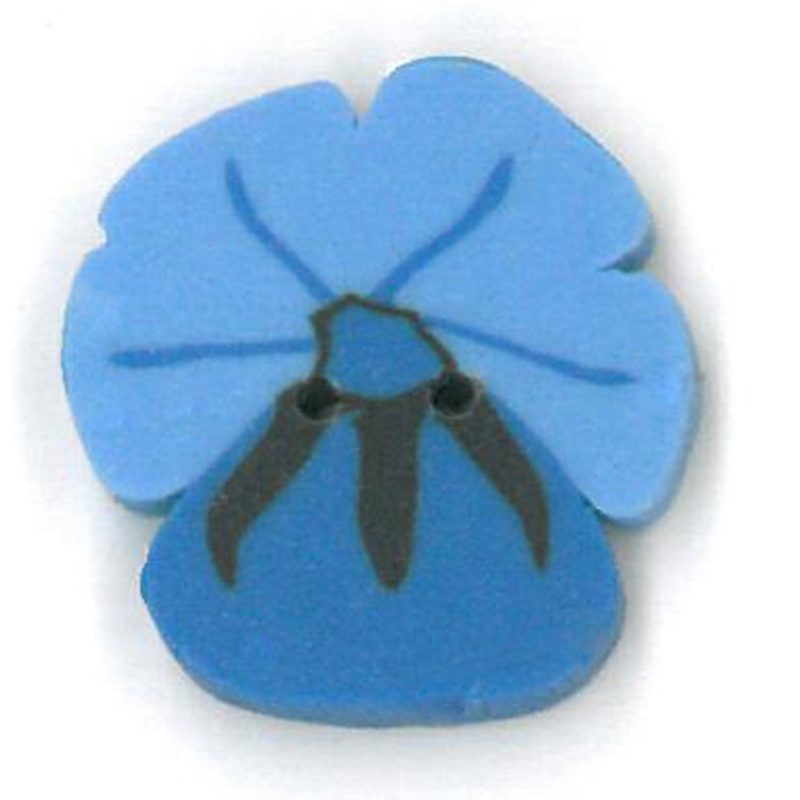 Blue Pansy - Small