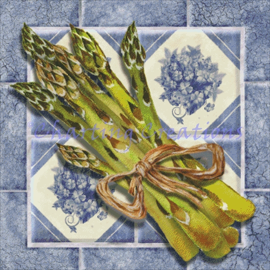 Asparagus - Tile Series - Click Image to Close