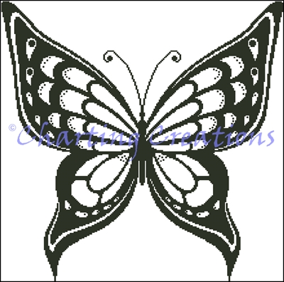 Butterfly Silhouette 3