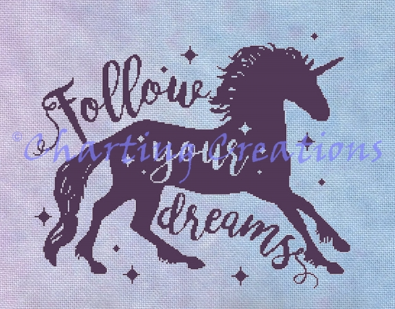 Follow Your Dreams Silhouette