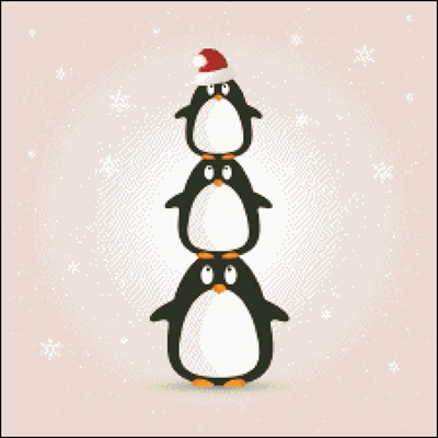 Merry Christmas Penguins