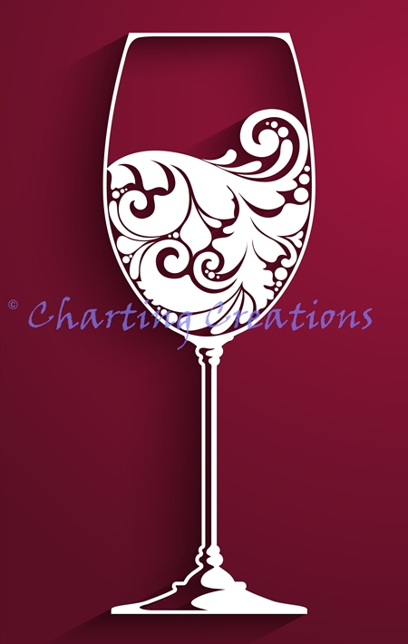 Wine Glass Silhouette