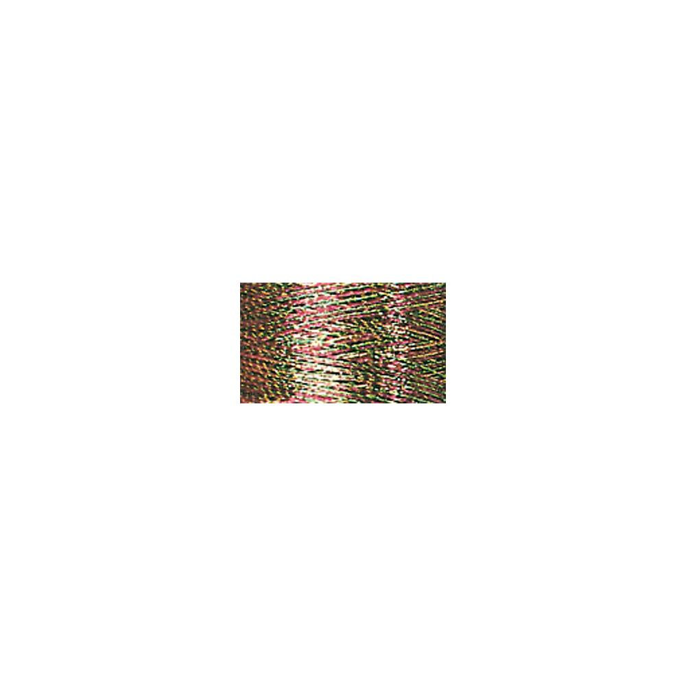 Sulky Metallic Thread - Multi - Cranberry, Gold & Pine Green