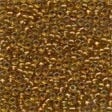 02040 Light Amber Glass Seed Beads
