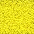 02059 Crayon Yellow Glass Seed Beads - Click Image to Close