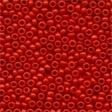 02062 Crayon Light Crimson Glass Seed Beads