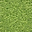 02066 Crayon Yellow Green Glass Seed Beads