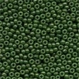 02094 Opaque Moss Glass Seed Beads