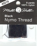 Black Nymo Thread 9 Yard