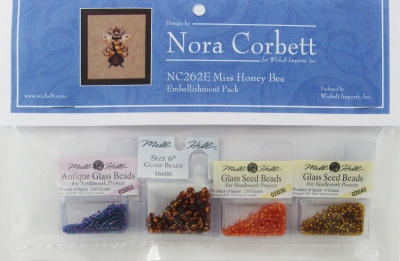 Miss Honey Bee Intriguing Insects Embellishment Pack